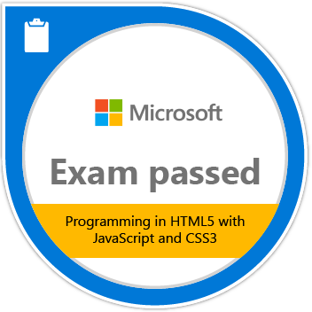 programming in html, css and javascript certification