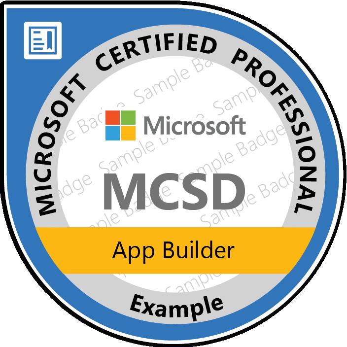 mcsd app developer