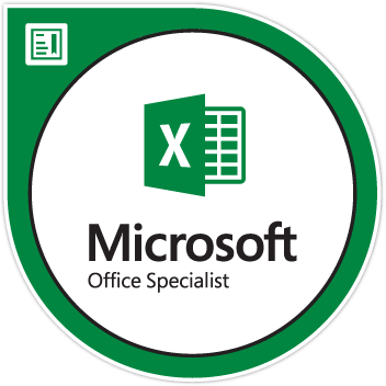 Excel Associate (Excel and Excel 2019)