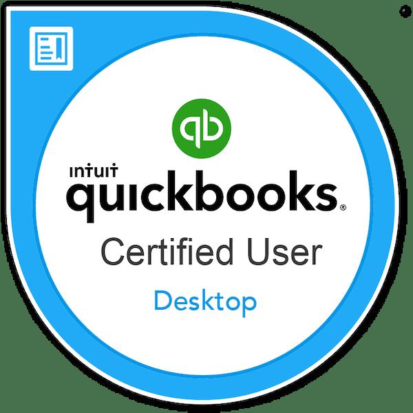 Intuit QuickBooks Certified User (QBCU)